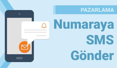 Numaraya SMS Gönder